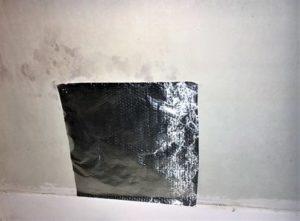condensation-ou-humidité-test-feuille-aluminium-condensation-remontées-capillaires