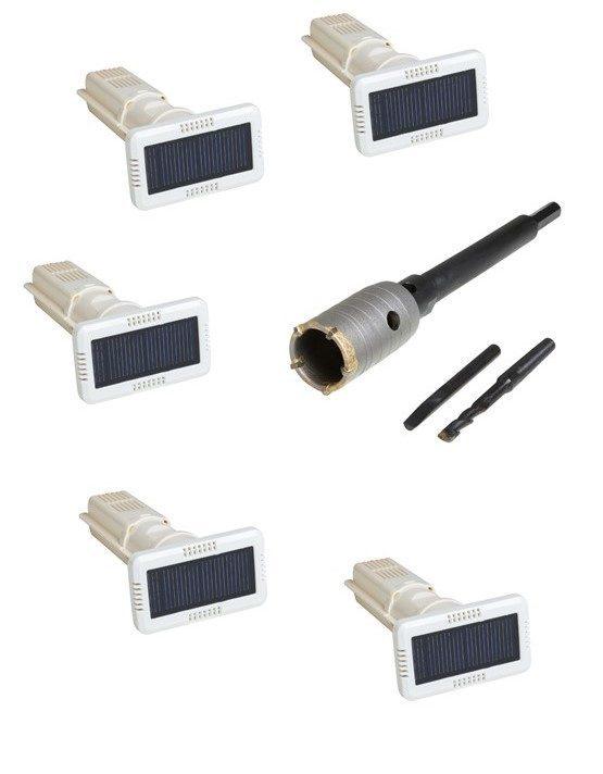 kit 5 assécheurs solaires
