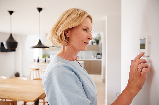réglage du thermostat chauffage