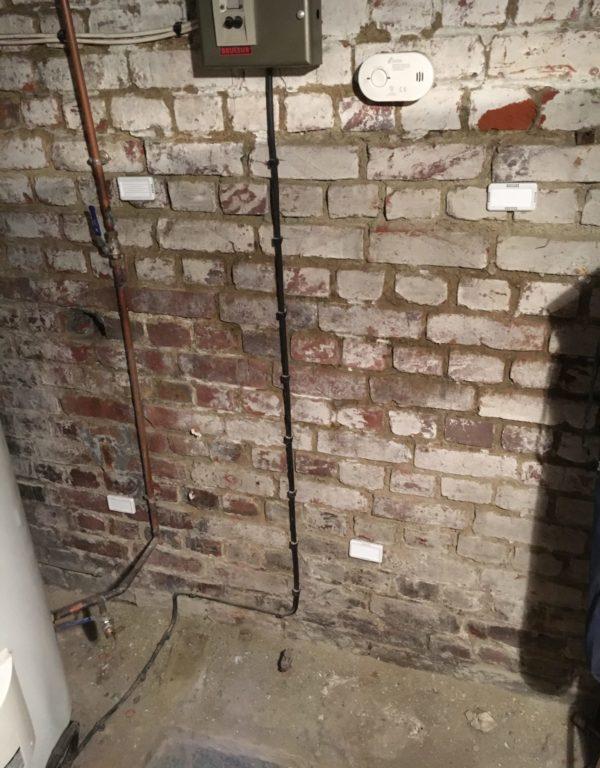 installation déshumidificateur en cave