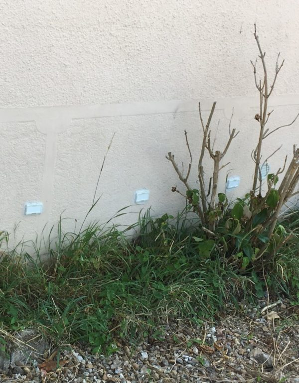 déshumidificateur de mur humides pose mur en pierre