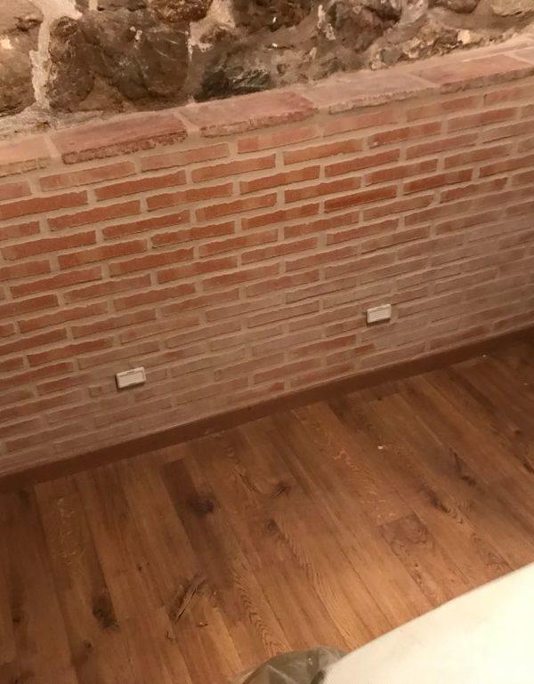 Installation assécheur intérieur cave en chambre