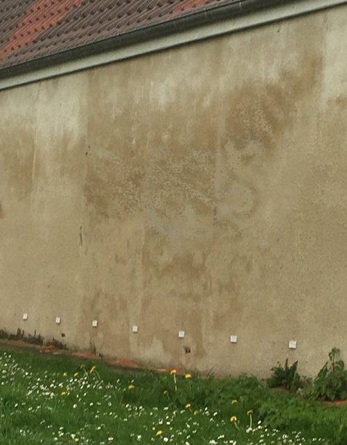 Traitement mur humide longère en brique