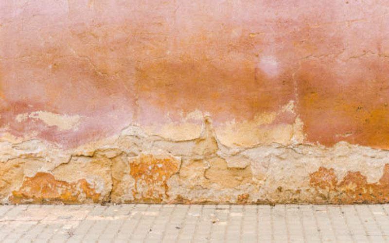Dégat-mur-extérieur-remontée-capillaire